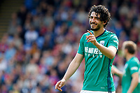 Ahmed Hegazi of West Brom smiling during the EPL - Premier League match between Crystal Palace and West Bromwich Albion at Selhurst Park, London, England on 13 May 2018. Photo by Carlton Myrie / PRiME Media Images.