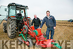 ARDFERT PLOUGHING MATCH on Dominic O Flaherty, Banna Land on Sunday were l-r  Tony O'Carroll and Thomas O'Carroll from Causeway.