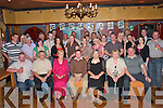 30TH: Adrian Bartlett, Firies (seated centre) celebrates his 30th birthday with his friends and family in the Killarney.Avenue Hotel last Saturday night.