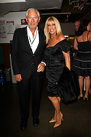 Suzanne Somers and Alan Hamel.Premier U.S.A. Arts High 25th Anniversary Celebration at the Ahmanson Theater in Los Angeles, California.17 April 2010.Photo by Nina Prommer/Milestone Photo