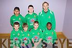Kingdom Boys F.C B Team.F l-r: Sam Boyle, Gavin Everett, Nicky O'Halloran, Wale Yusuf.B l-r: Roland Darvas, Robbie Murphy, Artur Nowak (coach)