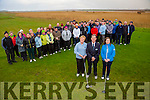 Castlegregory Golf Club: Captains Drive In on Sunday. Pictured with members were Mary Callanan, Lady President, Mike Mercer, Captain, Patricia Goodwin, Lady Captain