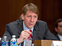 Richard Cordray, Director, Consumer Financial Protection Bureau, testifies before the United States Senate Committee on Banking, Housing and Urban Affairs during the hearing to examine Wells Fargoís unauthorized accounts and the regulatory response on Capitol Hill in Washington, DC on Tuesday, September 20, 2016. Photo Credit: Ron Sachs/CNP/AdMedia