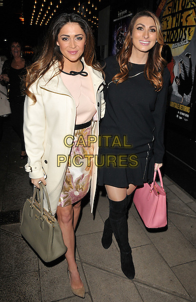 Casey Batchelor &amp; Luisa Zissman attend the Zippo's Cirque Berserk! press night, Peacock Theatre, Portugal Street, London, UK, on Tuesday 09 February 2016.<br /> CAP/CAN<br /> &copy;CAN/Capital Pictures