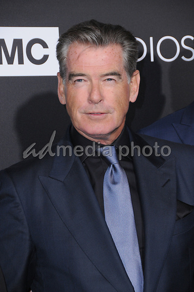 "03 April 2017 - Hollywood, California - Pierce Brosnan.  Premiere screening of AMC's ""The Son"" held at ArcLight Hollywood in Hollywood. Photo Credit: Birdie Thompson/AdMedia"