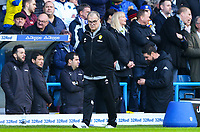 Leeds United manager Marcelo Bielsa watches on from the technical area<br /> <br /> Photographer Alex Dodd/CameraSport<br /> <br /> The EFL Sky Bet Championship - Leeds United v Bristol City - Saturday 24th November 2018 - Elland Road - Leeds<br /> <br /> World Copyright &copy; 2018 CameraSport. All rights reserved. 43 Linden Ave. Countesthorpe. Leicester. England. LE8 5PG - Tel: +44 (0) 116 277 4147 - admin@camerasport.com - www.camerasport.com