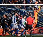 Wes Foderingham keeps the scoreline respectable with a string of saves