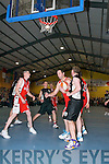 Action from St. Marys Team that won the Division One Mens Final at the St Marys Christmas Basketball Blitz which was held in the Castleisland Community Centre on Saturday