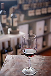 A glass of syrah in the Biddle Ranch Vineyard tasting room, which is in a former school house that was built in 1907 in San Luis Obispo, California December 20, 2014.