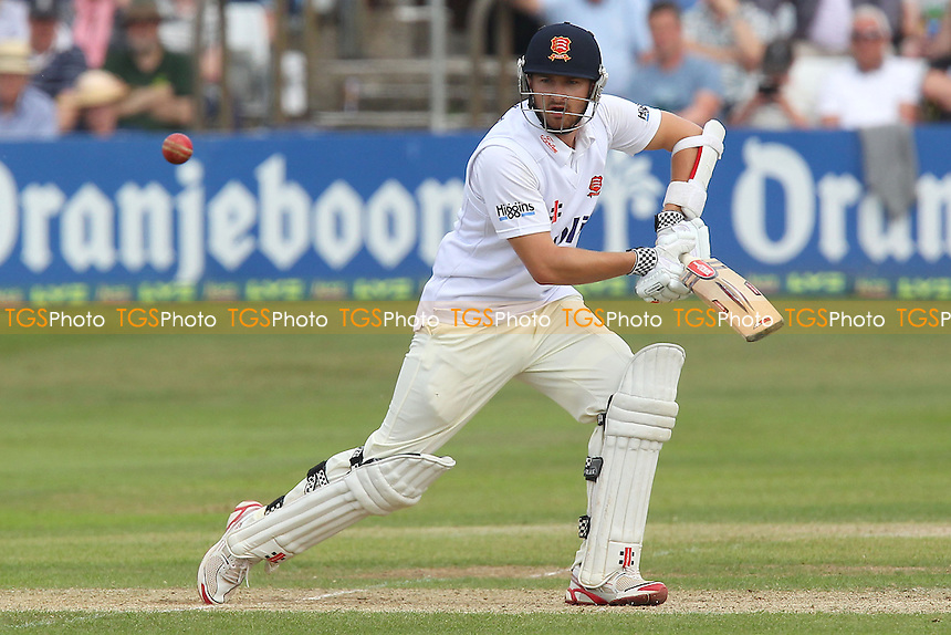 Jaik Mickleburgh in batting action for Essex - Essex CCC vs England - LV Challenge Match at the Essex County Ground, Chelmsford - 01/07/13 - MANDATORY CREDIT: Gavin Ellis/TGSPHOTO - Self billing applies where appropriate - 0845 094 6026 - contact@tgsphoto.co.uk - NO UNPAID USE