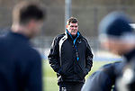 St Johnstone Training…05.02.19<br />Manager Tommy Wright pictured during training this morning at McDiarmid Park ahead of tomorrow's game at Hamilton<br />Picture by Graeme Hart.<br />Copyright Perthshire Picture Agency<br />Tel: 01738 623350  Mobile: 07990 594431