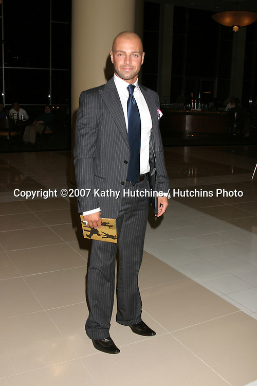 Joey Lawrence.Dance to Erase MS.Century Plaza Hotel.Century City, CA.April 14, 2007.©2007 Kathy Hutchins / Hutchins Photo....