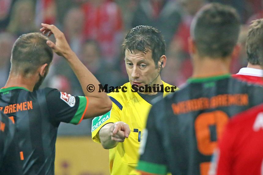 Schiedsrichter Wolfgang Stark - 1. FSV Mainz 05 vs. SV Werder Bremenl, Coface Arena