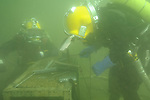 Minnesota School of Diving Students and Instructors photos scuba diving underwater welding