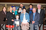 Jack Hannon with his Teachers of Scoil Freasto?gail Mhuire,Killahan, who made his Holy Communion on Saturday in St Bernard Church, Abbeydorney, also with Jack were his family. Front l-r: Nora and Breda Shanahan, Cora Long and John tionJoe Shanahan. Back l-r: Bri?d Leonard, John,Mike and Eoin Hannon,Grace Hannon and Master Gerry Doyle...