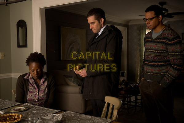 Jake Gyllenhaal, Terrence Howard, Viola Davis<br /> in Prisoners (2013) <br /> *Filmstill - Editorial Use Only*<br /> CAP/NFS<br /> Image supplied by Capital Pictures