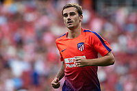 Antoine Griezmann of Atletico Madrid during the match between Real Madrid v Rayo Vallecano of LaLiga, 2018-2019 season, date 2. Wanda Metropolitano Stadium. Madrid, Spain - 25 August 2018. Mandatory credit: Ana Marcos / PRESSINPHOTO