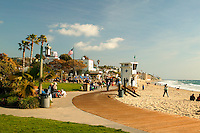 Laguna Main Beach In Orange County  California