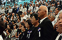 August 15, 2013, Tokyo, Japan - Bereaved families of the war dead pay homage to those who lost their lives during a ceremony in Tokyo marking the 68th anniversary of Japan's surrender in World War II on Thursday, August 15, 2013. (Photo by Kaku Kurita/AFLO)