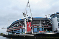 A general view of The Principality Stadium, Cardiff<br /> <br /> Photographer Ian Cook/CameraSport<br /> <br /> Under Armour Series Autumn Internationals - Wales v Scotland - Saturday 3rd November 2018 - Principality Stadium - Cardiff<br /> <br /> World Copyright © 2018 CameraSport. All rights reserved. 43 Linden Ave. Countesthorpe. Leicester. England. LE8 5PG - Tel: +44 (0) 116 277 4147 - admin@camerasport.com - www.camerasport.com