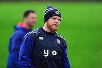 Tom Homer of Bath Rugby looks on. Bath Rugby training session on November 22, 2016 at Farleigh House in Bath, England. Photo by: Patrick Khachfe / Onside Images