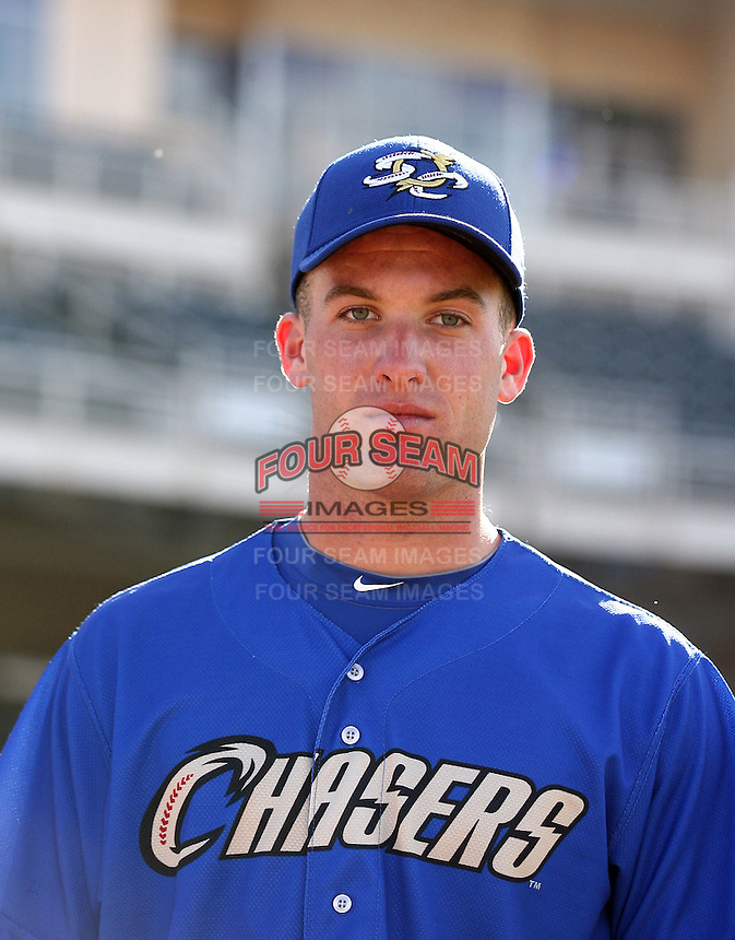 Danny Duffy #21 of the Omaha Storm Chasers plays in a Pacific Coast League game against the Albuquerque Isotopes at Isotopes Park on May 3, 2011  in Albuquerque, New Mexico. .Photo by:  Bill Mitchell/Four Seam Images.
