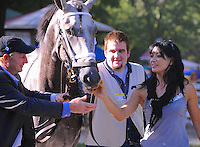 Scenes from around the track on closing weekend on September 1-3, 2012 at Saratoga Race Track in Saratoga Springs, New York.  (Bob Mayberger/Eclipse Sportswire)