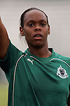 20 June 2009: Kia McNeill (6) of Saint Louis Athletica.  Saint Louis Athletica were defeated by the visiting Washington Freedom  0-1 in a regular season Women's Professional Soccer game at AB Soccer Park, in Fenton, MO.