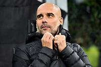 Josep Guardiola coach of Manchester City <br /> Milano 06-11-2019 Stadio San Siro <br /> Football Champions League 2019/2020 Group C <br /> Atalanta - Manchester City <br /> Photo Andrea Staccioli / Insidefoto