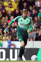 Tim Krul of Norwich City with the ball during Norwich City vs Middlesbrough, Sky Bet EFL Championship Football at Carrow Road on 15th September 2018