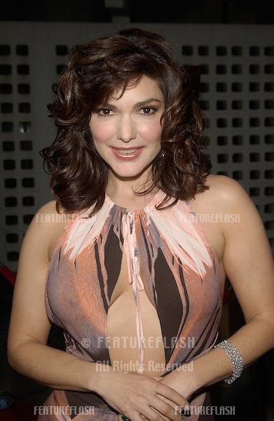 Actress LAURA HARRING at the Los Angeles premiere of her new movie The Punisher..April 12, 2004