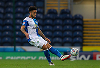 Blackburn Rovers' Derrick Williams <br /> <br /> Photographer Andrew Kearns/CameraSport<br /> <br /> The EFL Checkatrade Trophy - Blackburn Rovers v Stoke City U23s - Tuesday 29th August 2017 - Ewood Park - Blackburn<br />  <br /> World Copyright &copy; 2018 CameraSport. All rights reserved. 43 Linden Ave. Countesthorpe. Leicester. England. LE8 5PG - Tel: +44 (0) 116 277 4147 - admin@camerasport.com - www.camerasport.com