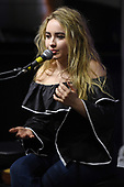 HOLLYWOOD, FL -  AUGUST 04: Sabrina Carpenter attends the French Fry Fiesta at radio station Hits 97.3 Live on August 4, 2017 in Hollywood, Florida. Photo by Larry Marano © 2017