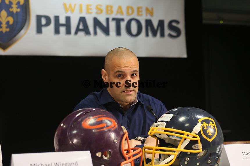 Defensive Coordinator Daniel Garcia (Wiesbaden Phantoms)