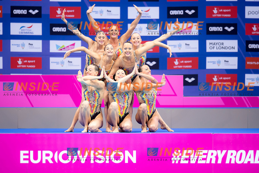 Team ITA Italy<br /> London, Queen Elizabeth II Olympic Park Pool <br /> LEN 2016 European Aquatics Elite Championships <br /> Team Technical final<br /> Day 01 09-05-2016<br /> Photo Giorgio Scala/Deepbluemedia/Insidefoto