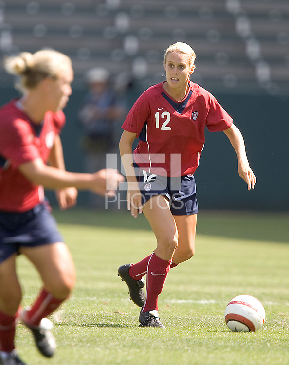 Leslie Osborne. The USA defeated Iceland, 3-0, at the Home Depot Center in Carson, CA on July 24, 2005.