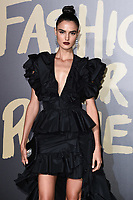 LONDON, UK. September 14, 2019: Blanca Padilla at the Fashion for Relief Show 2019 at the British Museum, London.<br /> Picture: Steve Vas/Featureflash