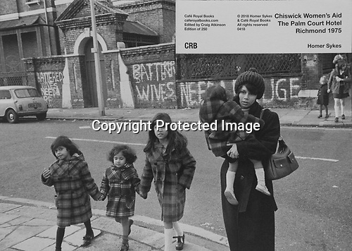 Chiswick Women's Aid, 1970s london. Cafe Royal Book.<br />