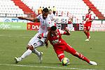 MANIZALES – COLOMBIA _06-04-2014 /En compromiso correspondiente a la fecha 15 del Torneo Apertura Colombiano 2014, Once Caldas e Independiente Santa Fe igualaron 1 – 1  en el estadio Palogrande de Manizales. /