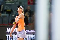 Maria Sharapova during the match of the Charity day previus at Madrid Open Tenis 2017in  Madrid, Spain. May 04, 2017. (ALTERPHOTOS/Rodrigo Jimenez) /NORTEPHOTO.COM