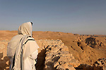 Israel, Masada, the inauguration of the Synagogue, Shacharit prayer at dawn, 2005<br />