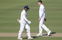 Jamie Porter  of Essex leaves the field having been caught out off the bowling of Morne Morkel during Surrey CCC vs Essex CCC, Specsavers County Championship Division 1 Cricket at the Kia Oval on 13th April 2019