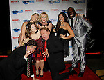 Dale Badway and Jodi Stevens who performed with Ken Lundie - Christina Bianco - Missy Keene - xx - Phillip Boykin (Porgy and Bess)  - New Year's Eve 2016 and Times Square Ball Drop at The Copacabana, New York City, New York. (Photo by Sue Coflin/Max Photos)  suemax13@optonline.net