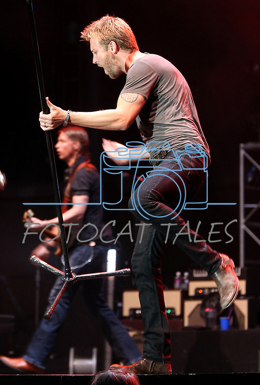 Charles Kelley of Lady Antebellum performs at Harveys Lake Tahoe in Stateline, Nev., on Friday, July 29, 2011. .Photo by Cathleen Allison