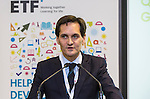 """BRUSSELS - BELGIUM - 23 November 2016 -- European Training Foundation (ETF) Conference on """"GETTING ORGANISED FOR BETTER QUALIFICATIONS"""". -- Panel discussion: Michael Graham, ETF Strategic Project Leader, Qualifications; . -- PHOTO: Juha ROININEN / EUP-IMAGES"""