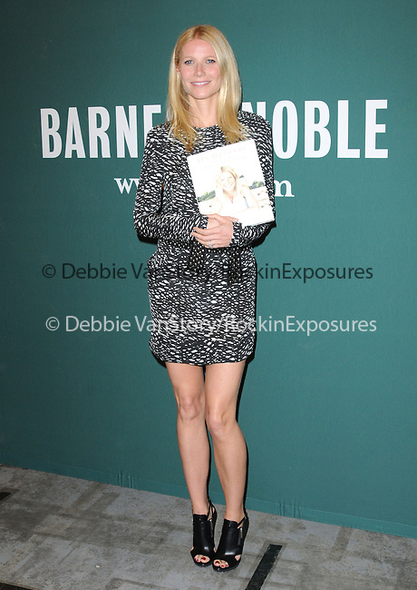 Gwyneth Paltrow at The Gwyneth Paltrow Book Signing of her new cookbook It's All Good: Delicious, Easy Recipes that Will Make You Look Good and Feel Great held at Barnes & Noble at The Grove in Los Angeles, California on April 03,2013                                                                   Copyright 2013 Hollywood Press Agency
