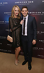 Ashley Spencer and Jeremy Jordan attend the Broadway Opening Night After Party for 'AMERICAN SON' at Brasserie 8 1/2 on November 4, 2018 in New York City.