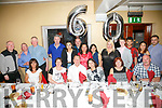 Gerald O'Connor, Tralee celebrates his 60th Birthday with family and friends at Benners Hotel on Saturday