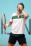 Pablo Cuevas, Uruguay, during Madrid Open Tennis 2016 match.May, 5, 2016.(ALTERPHOTOS/Acero)
