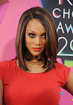 LOS ANGELES, CA. - March 27: Tyra Banks arrives at Nickelodeon's 23rd Annual Kid's Choice Awards at Pauley Pavilion on March 27, 2010 in Los Angeles, California.